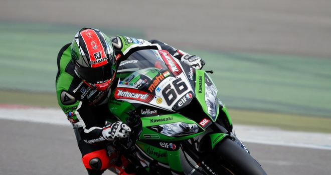 Tom Sykes: Third successive pole for the Briton