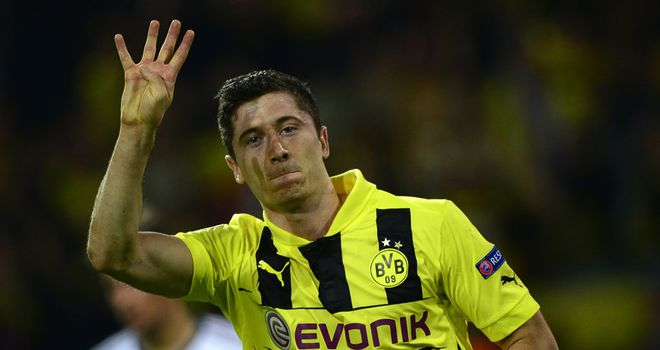 Robert Lewandowski: Has been linked with Bayern Munich and Manchester United