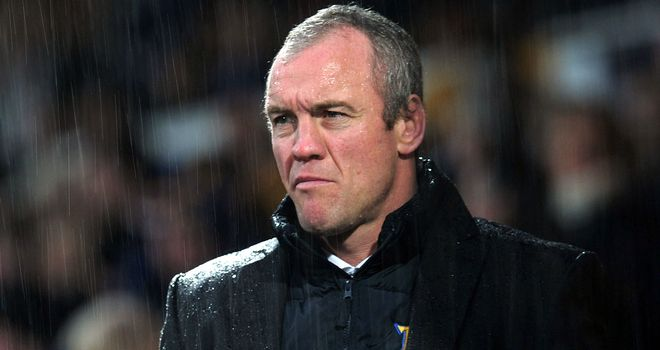 Brian McDermott: half a season to go