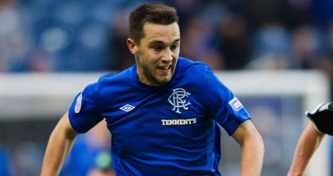 Chris Hegarty: Back for Rangers after serving a two-match suspension