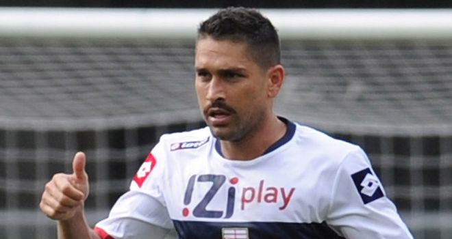 Marco Borriello: Clinched the victory for Genoa