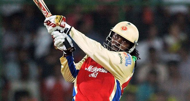 Chris Gayle: Hit nine sixes in an easy Bangalore win