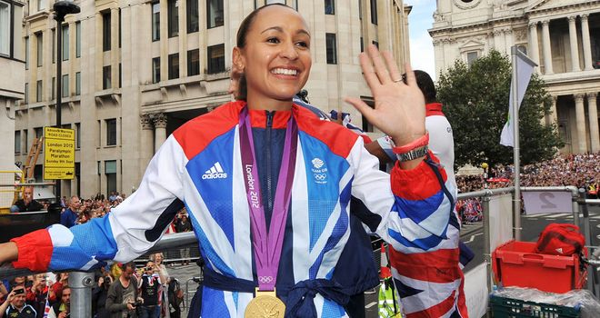 Jessica Ennis-Hill: The Olympic heptathlon champion was the poster girl of London 2012