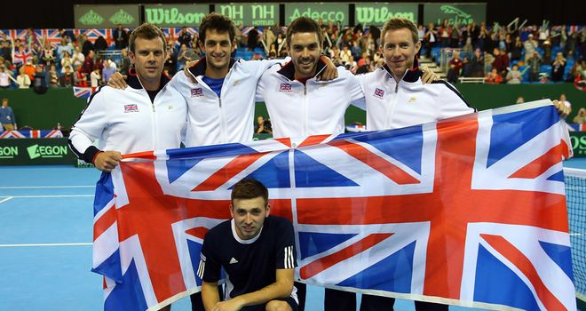 Great Britain: one win away from return to top level of Davis Cup