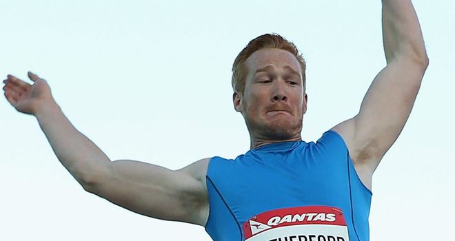 Greg Rutherford: Leaps to victory in Australia
