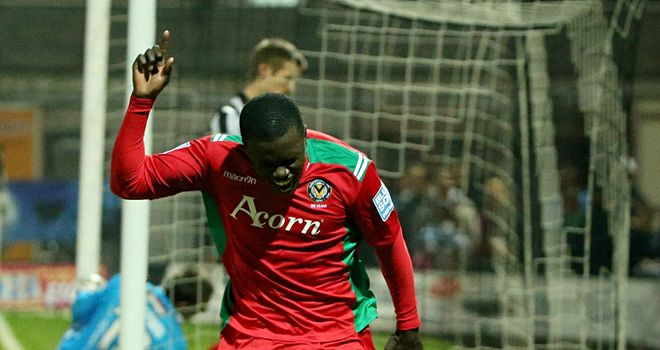 Ismail Yakubu: Opened the scoring
