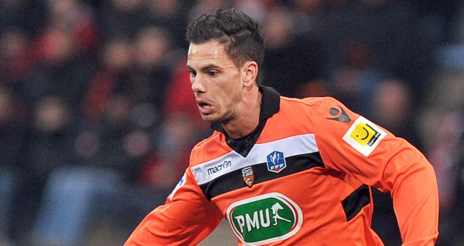 Jeremie Aliadiere: Two goals in Lorient's win over Bastia
