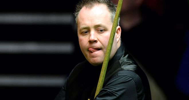 John Higgins: Early exit at the Crucible