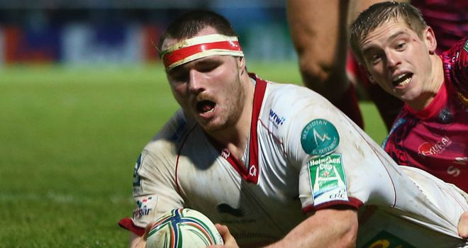 Ken Owens: on the scoresheet for Scarlets