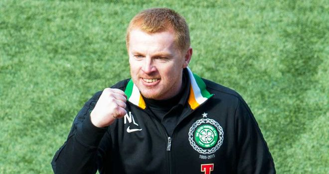 Neil Lennon: Wants a joyous occasion at Celtic Park on Sunday