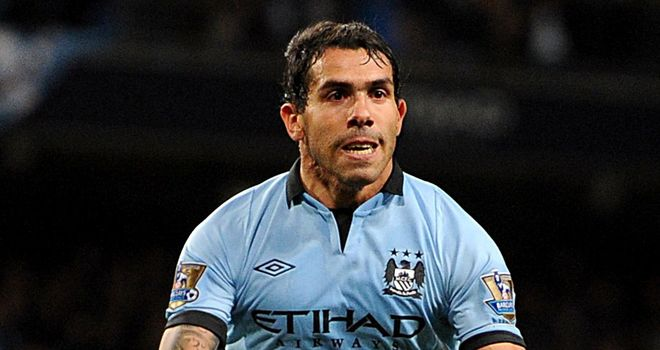 Carlos Tevez: Manchester City striker staying put this summer