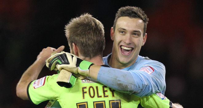 Marek Stech: Was in fine form in goal