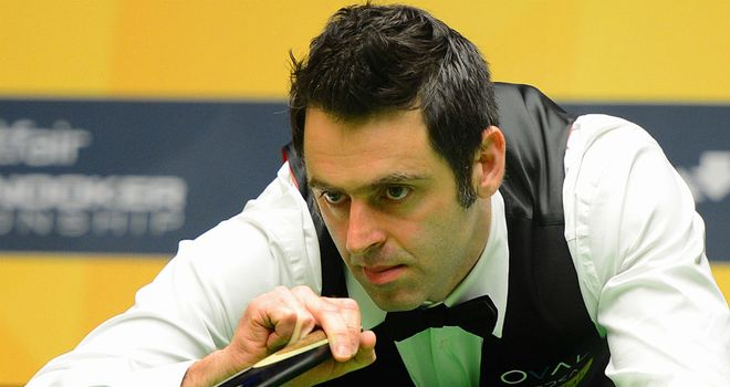 Ronnie O'Sullivan: Leading Stuart Bingham after vintage performance
