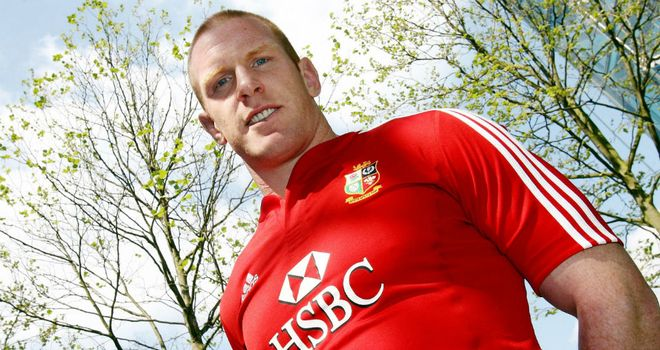 Paul O'Connell: Captained the Lions in 2009