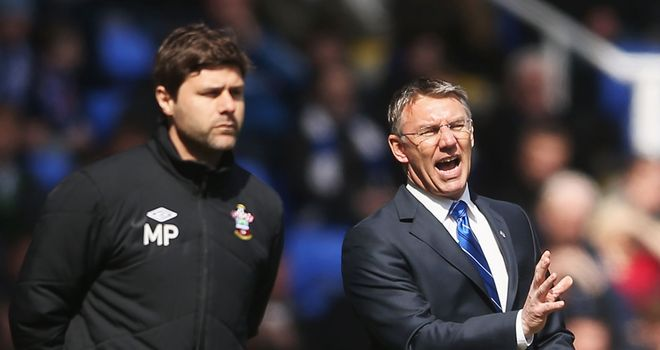 Mauricio Pochettino: Got the better of Nigel Adkins in the managerial battle of wits