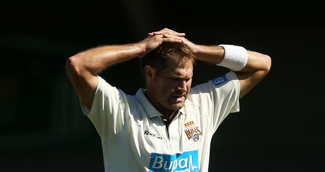 Ryan Harris: currently with Australia A ahead of the Ashes