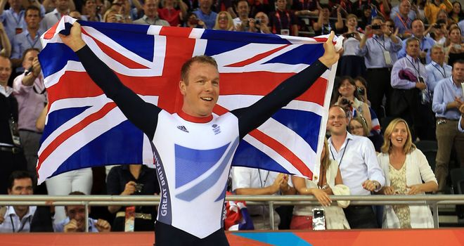 Sir Chris Hoy: Won two more golds at the London Olympics.