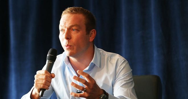 Sir Chris Hoy: Keen to act as a mentor to a future generation of cyclists