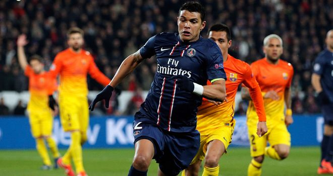 Thiago Silva: The subject of Twitter remarks by Joey Barton