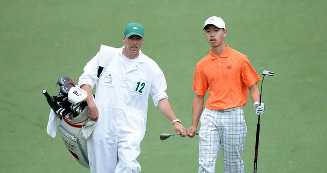 Liantang Guan: Made the cut despite penalty