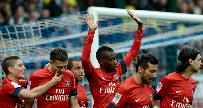 Blaise Matuidi celebrates his winning goal