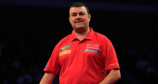 Wes Newton: Joins Phil Taylor and Andy Hamilton in Winners Group