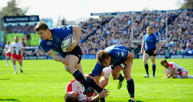 Brian O'Driscoll: Returns to the Leinster starting line-up