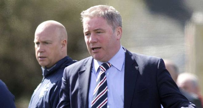 Ally McCoist: Hopes to add more firepower to his squad