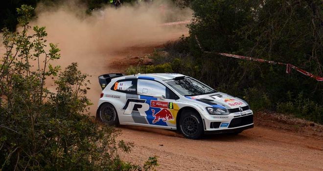 Sebastien Ogier: Extended his lead after day two of the Rally of Portugal