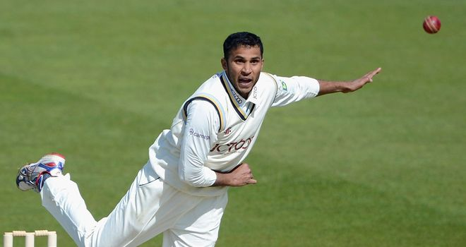 Adil Rashid: Has hit out at Yorkshire captain Andrew Gale