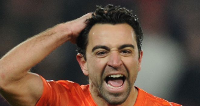 Xavi: Believes there is more to come from Barcelona