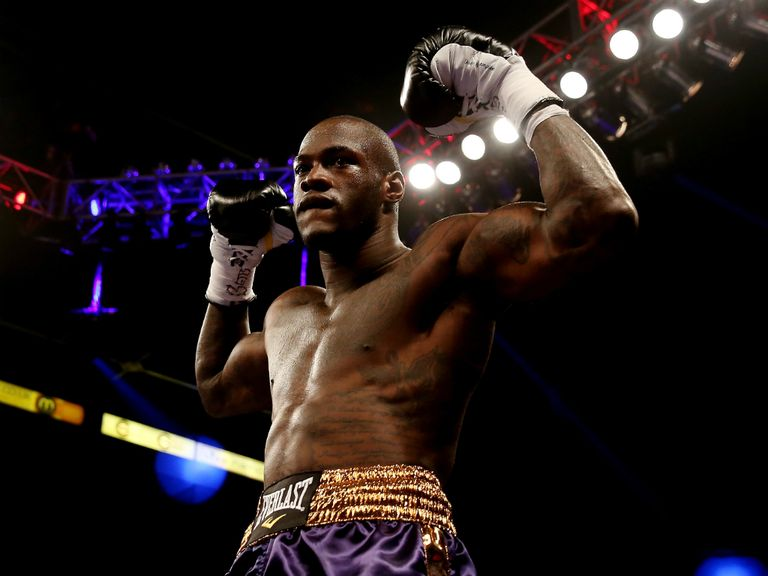 Deontay Wilder: Stopped Audley Harrison in the first round