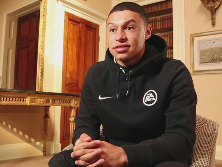 Alex Oxlade-Chamberlain: Experiencing a 'great education'