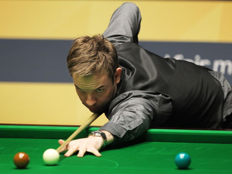 Ali Carter: Twice a beaten finalist at the Crucible