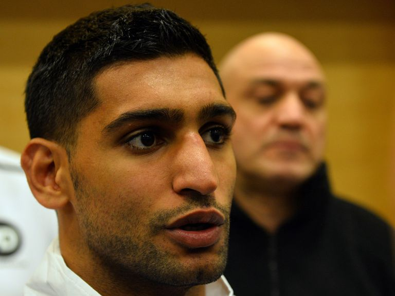 Amir Khan: Linked with Floyd Mayweather fight