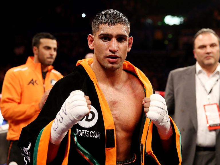 Amir Khan: Thanks Asif Vali for his hard work