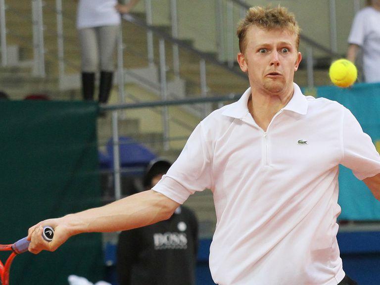 Andrey Golubev helped Kazakhstan hit back