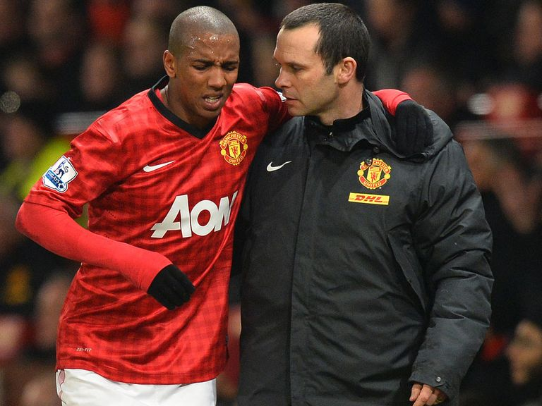 Ashley Young: Faces fortnight on the sidelines