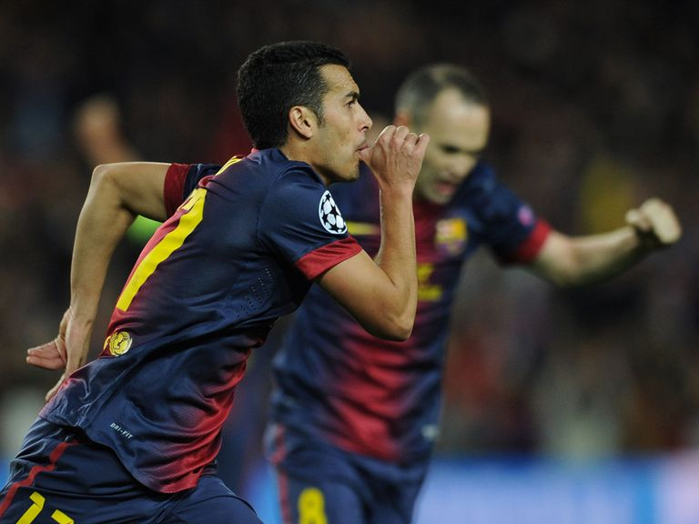 Pedro: Determined to stay at Barcelona