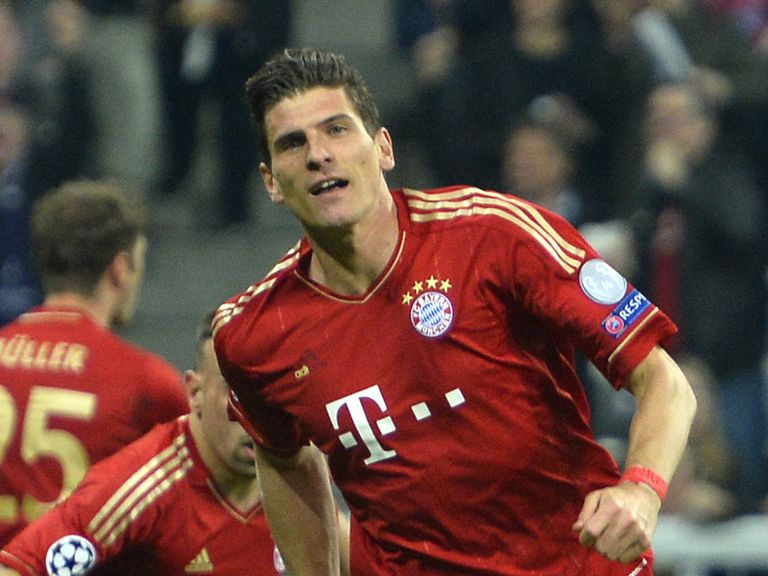 Mario Gomez: The Germany striker's agent says he is set to leave Bayern Munich