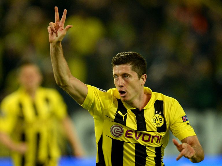 Robert Lewandowski: Looks set to join Bayern Munich next summer