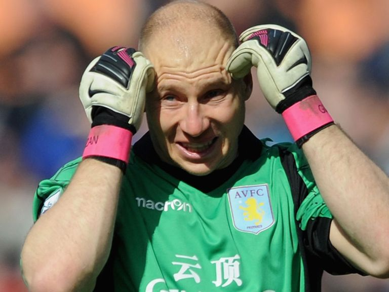 Brad Guzan: Impressed by the spirit shown by Aston Villa last season