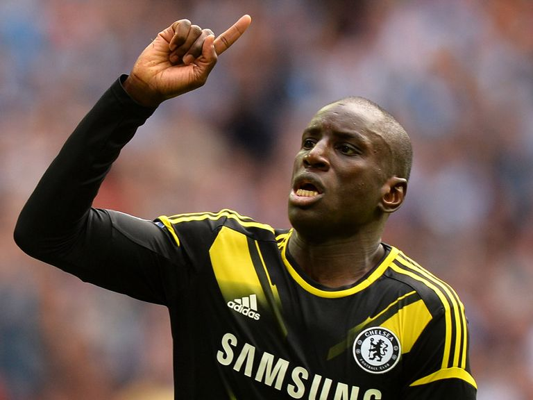 Demba Ba: Keen to stay with Chelsea