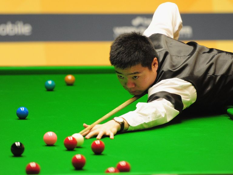 Ding Junhui: Secured a whitewash in the Indian Open final