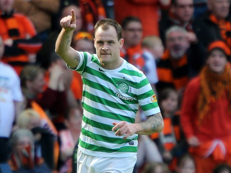 Anthony Stokes: Scored a crucial winner for Celtic on Sunday
