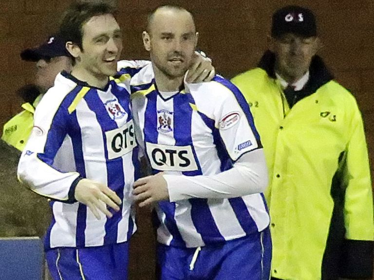 Kris Boyd: Hoping to clinch a top-six spot with Killie