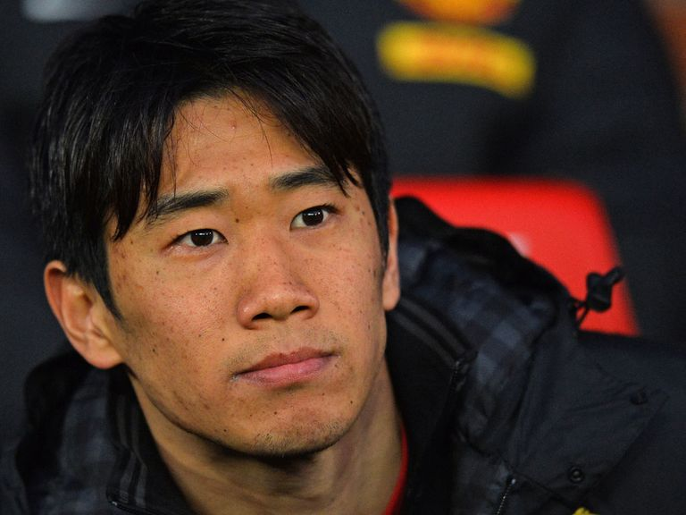 Shinji Kagawa: Joins up with Manchester United squad