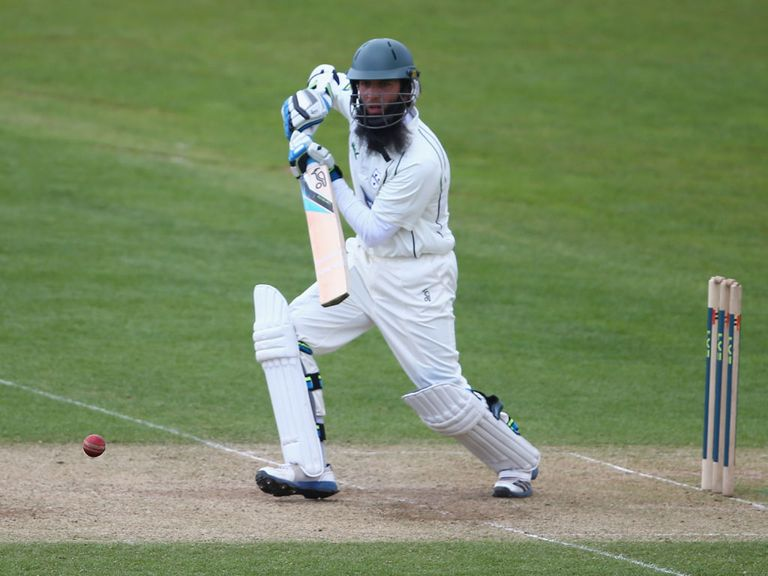 Moeen Ali made 55 for Worcestershire
