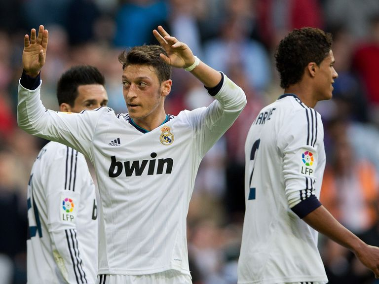 Mesut Ozil is staying at Real Madrid