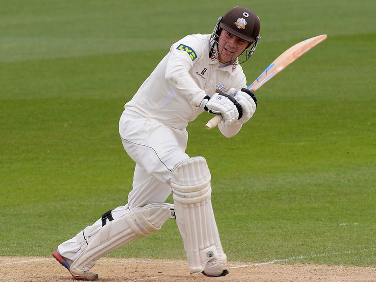 Rory Burns: Made runs for Surrey on Friday